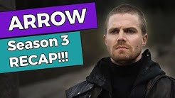 Arrow - Season 3 RECAP!!!