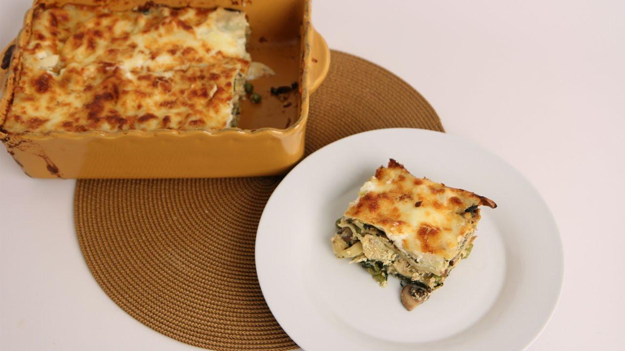 Vegetable Lasagna Recipe - Laura Vitale - Laura in the Kitchen ...