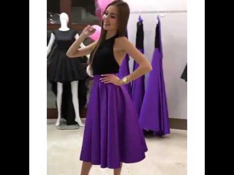Платья цвет марсала фото - YouTube