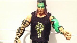 JAKKS TNA SPOTLIGHT: Glow paint JEFF HARDY Ringside Collectibles exclusive wrestling action figure