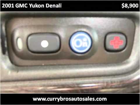 2001 GMC Yukon Denali Used Cars Thomasville NC