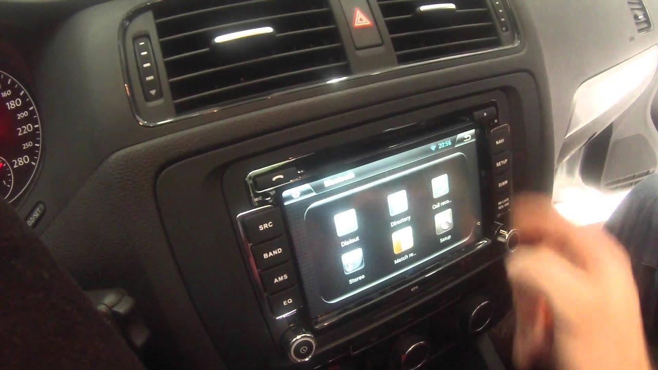 Volkswagen Golf R >> Volkswagen Jetta Android Navigasyon DVD Multimedya Montajı ...