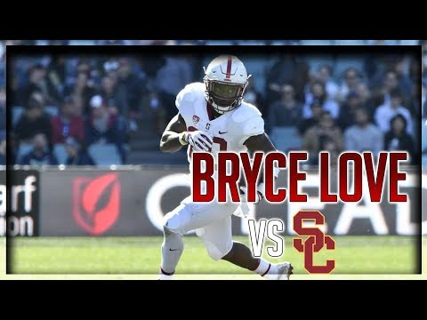 Bryce Love Highlights vs USC // 17 Carries for 160 Yards, 1 TD // 9.09.17