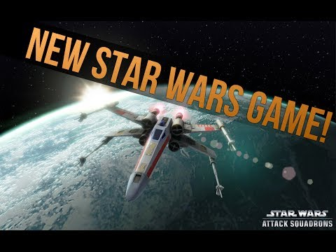New Star Wars Game Announced: Star Wars: Attack Squadrons!