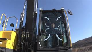 Volvo E series crawler excavators - comfort you can count on