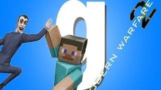 Обзор аддонов Gmod - MW2 and Minecraft