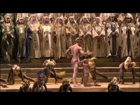 [HD] Gloria all' Egitto, Marcia trionfale; Ballabile; Vieni, o guerriero vindice (from Verdi's Aida)