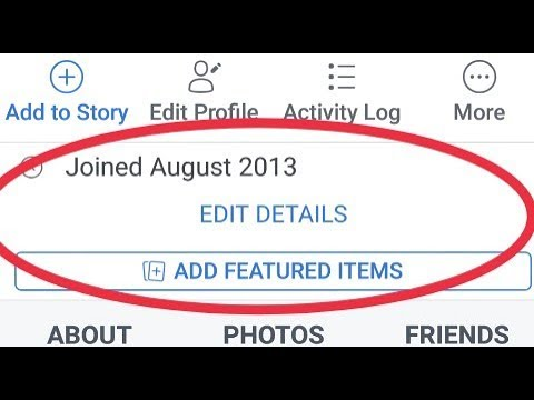 What Is Edit Details In Facebook And How Edit Details In Your Facebook Profile