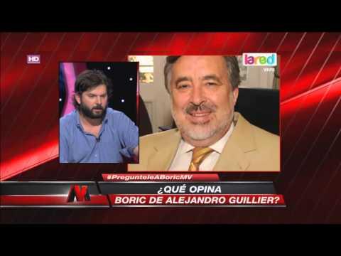 Gabriel Boric atacó con todo a Ricardo Lagos y a Sebastián Piñera