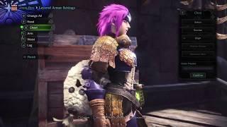 Download Monster Hunter World Armor Set Zorah γ Armor Origin Layered