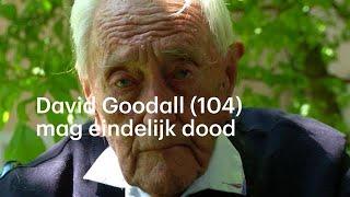 David Goodall (104) wil dood en nu mag het eindelijk - RTL NIEUWS
