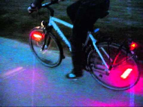 Monkeylectrics LED Lichter Fahrrad - YouTube