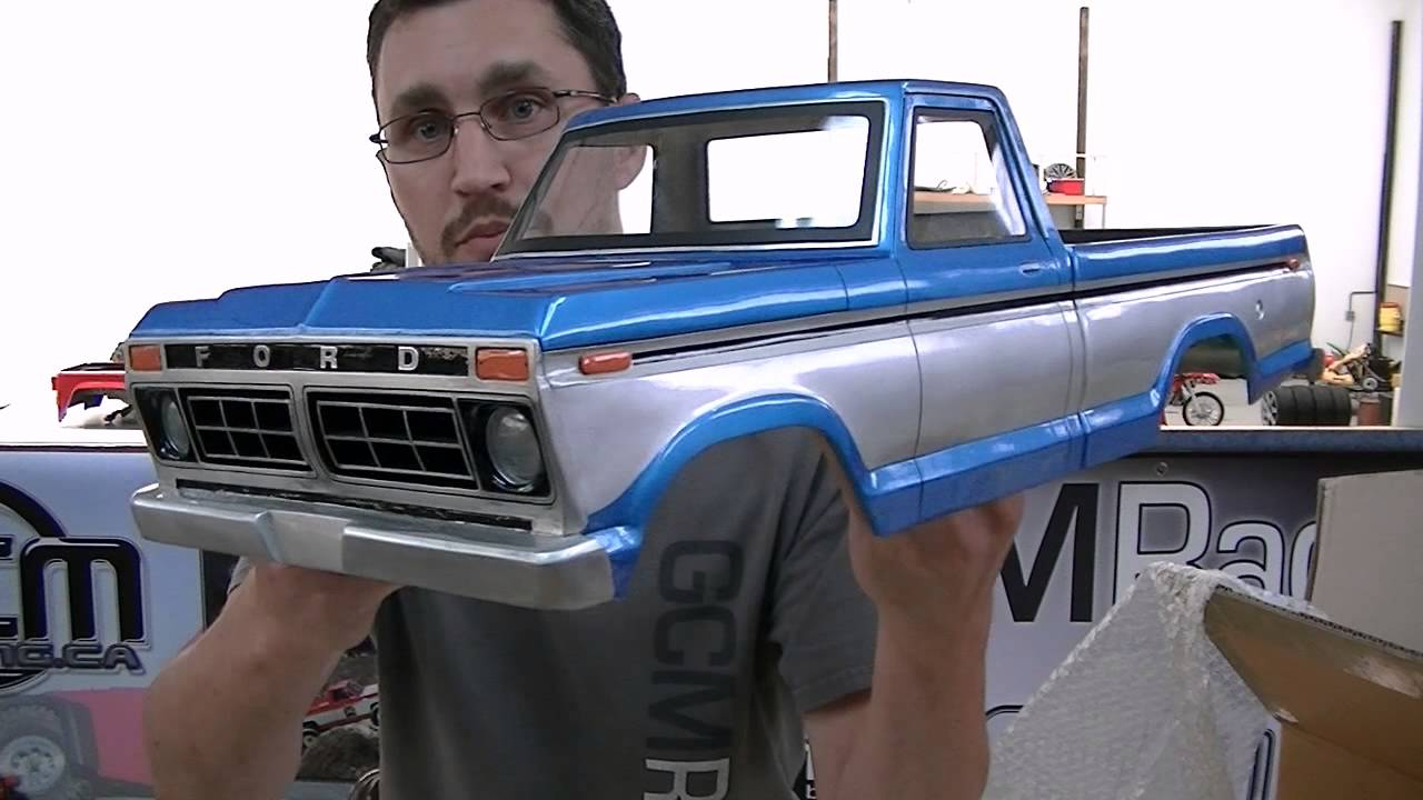 First Look - Unboxing a Customotive 1977 Ford - YouTube