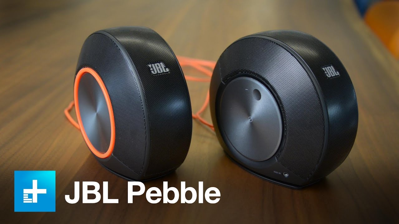JBL Pebbles computer speakers - hands on
