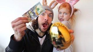 $100 GOLD EGGS Ultimate Hide n Seek!! (Adley vs The Spacestation)