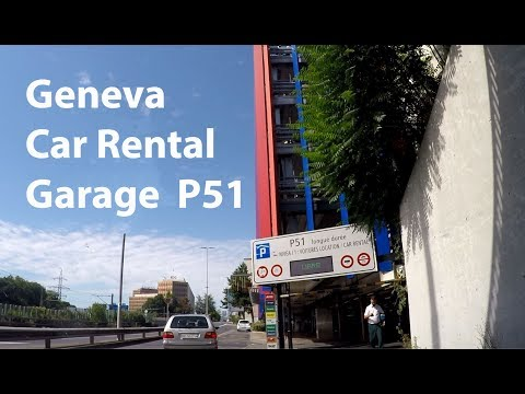 Geneva AIRPORT P51 car rental return