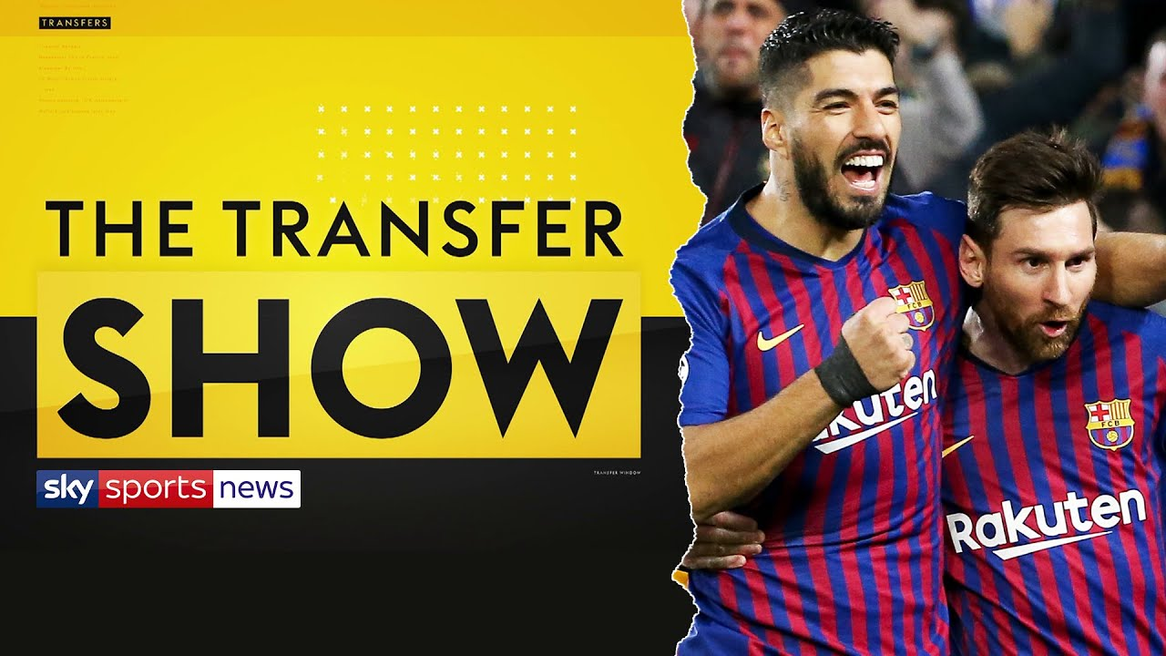 Luis Suarez spotted outside Lionel Messi's house as discussions continue | The Transfer Show