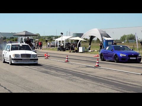 Mercedes W124 E300 Turbo Diesel Vs BMW M6 Vs BMW M5