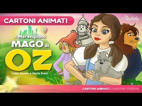 Il meraviglioso mago di Oz storie per bambini | Cartoni animati