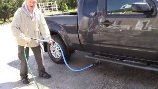 Easiest Way To Wash Under Your Car!