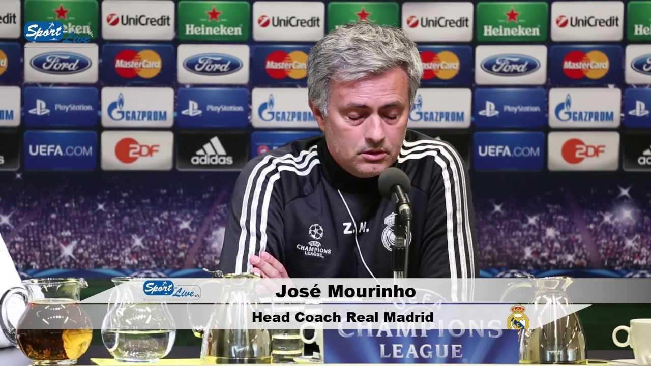 Pressekonferenz von Real Madrid mit Jose Mourinho und Mesut Özil