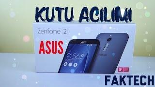 Asus Zenfone 2 Kutu Açılımı