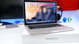 Apple 13-Inch MacBook Pro w/ Retina Display (2015) Unboxing, Overview, & Benchmarks!