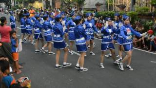 Lomba Gerak Jalan Indah No Urut 03 Gianyar Bali HUT RI ke 71 Tahun