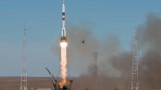 Notlandung der Sojus nach missglücktem Raketenstart - 2 Mann an Bord wohlauf