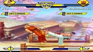 HD MUGEN 1.1 Ryu リュウ vs. Ryo リョウ・サカザキ