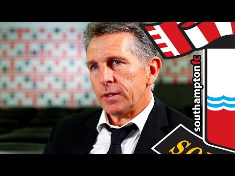 Puel's first interview as Southampton manager
