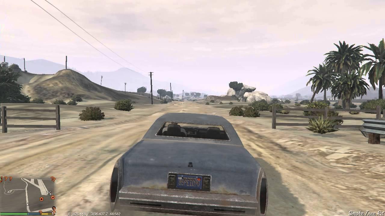 Grand Theft Auto V PC Mods - Show Coordinates [DOWNLOAD]