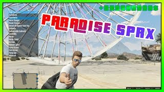 GTA 5 ONLINE - PARADISE SPRX MOD MENU [1.27/PS3] (GTA V MODS)