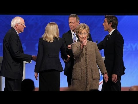 U.S. Democratic candidates clash over national security in ...