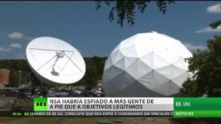 EE.UU.: La NSA habría espiado a más gente de a pie que a objetivos legítimos