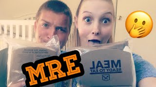 TRYING MRE'S FOR THE FIRST TIME ❗️