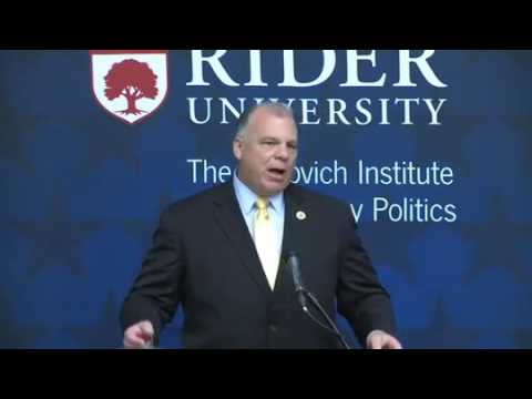 Hon. Stephen M. Sweeney: Governing New Jersey Series - Rebovich Institute for New Jersey Politics