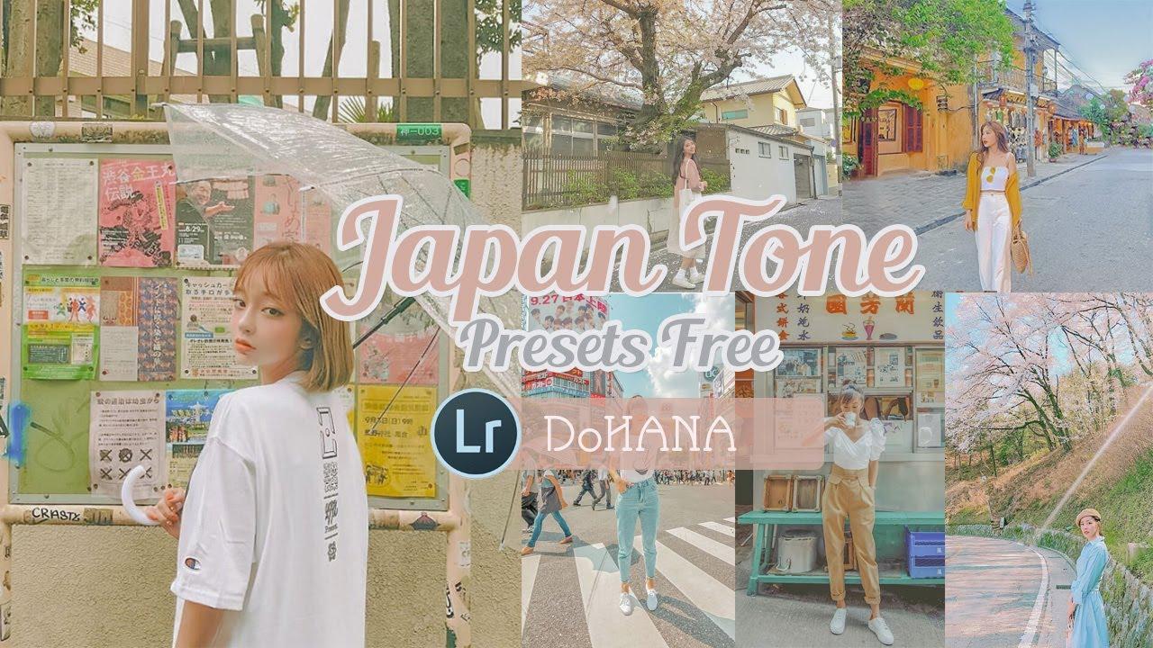 JAPAN Tone Lightroom Presets   Lightroom Mobile Presets FREE DNG   Công Thức Lightroom Tone Nhật Bản