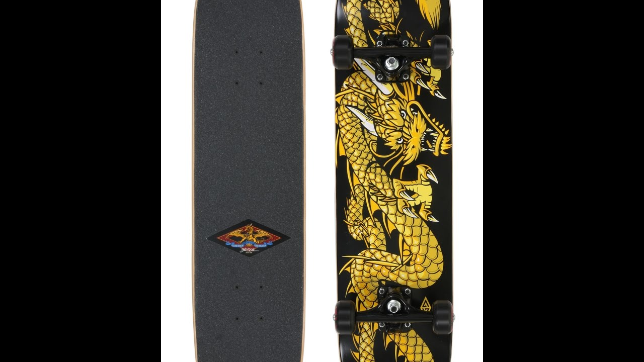 Golden Dragon Skateboard Rewiew - YouTube b39121cccf3