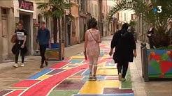 Draguignan : une rue peinte pour se faire remarquer