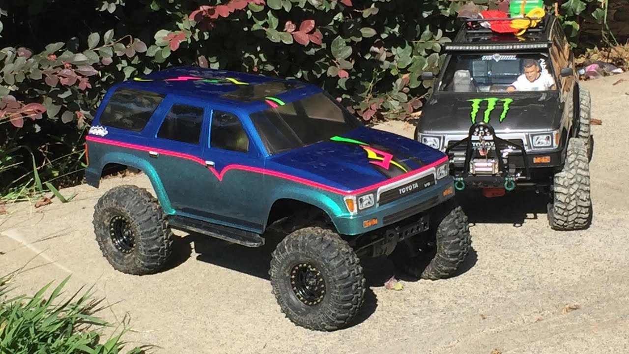 Rc 4runner Body >> Traxxas TRX4 upgrades making magnetic body mounts and installing a PL 1991 4Runner body - YouTube