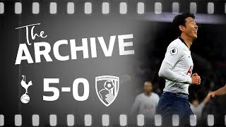 THE ARCHIVE | SPURS 5-0 AFC BOURNEMOUTH | Eriksen, Son, Lucas and Kane score on Boxing Day win!