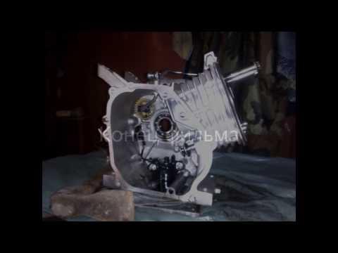 Ремонт двигателя Lifan 170F мотобуксировщика Мухтар. Замена коленвала. Часть 1. Разборка.