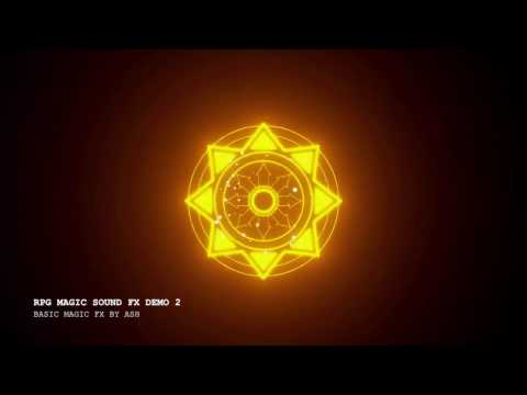 Anime-style, RPG Magic Sound Effects By W.O.W Sound