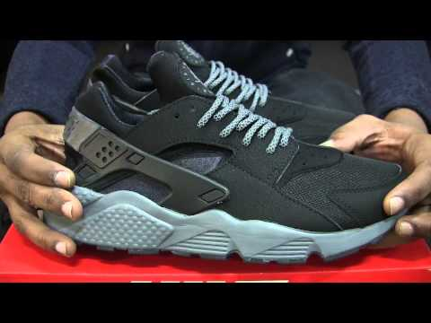 new concept d1366 2d2d0 Nike Air Huarache Black/Grey - backup order WIN after Champs ...