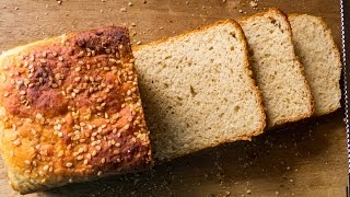 Brown Bread Recipe / Whole Wheat - Eggless, Healthy, No Oven | Eggless Baking Without Oven