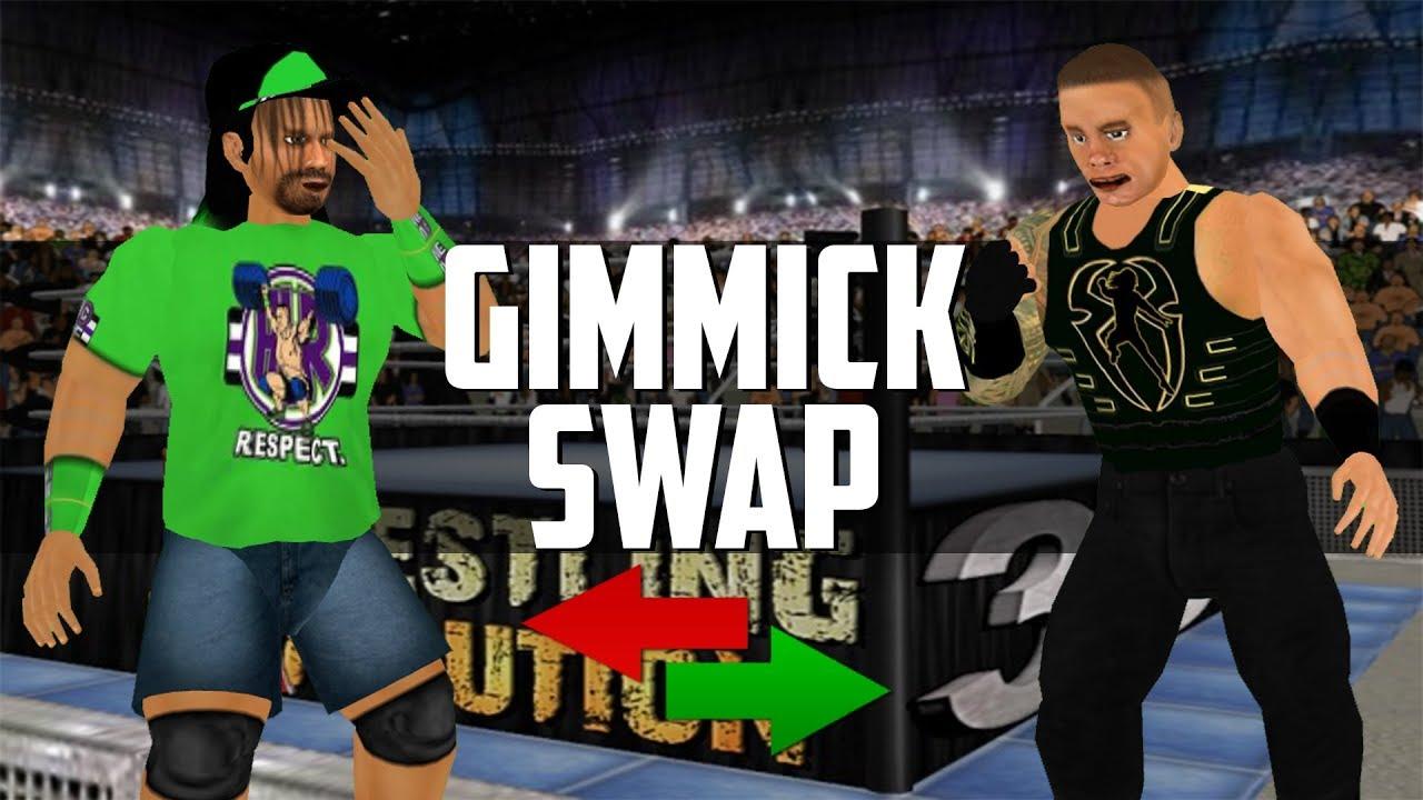 WR3D Gimmick Swap