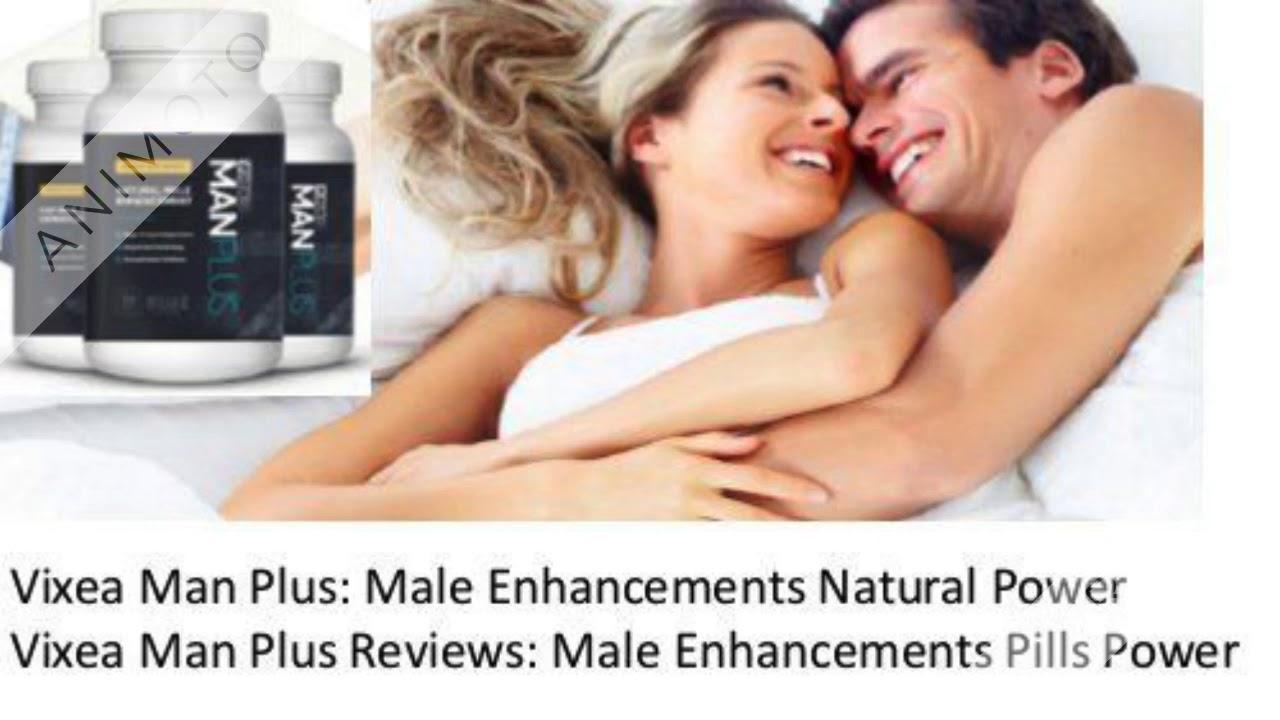 Vixea Man Plus - Natural Men's Health Formula Its Really Work!