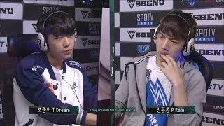 [SBENU SSL 2015] Dream vs Rain  RO.16 Group Dream Winner
