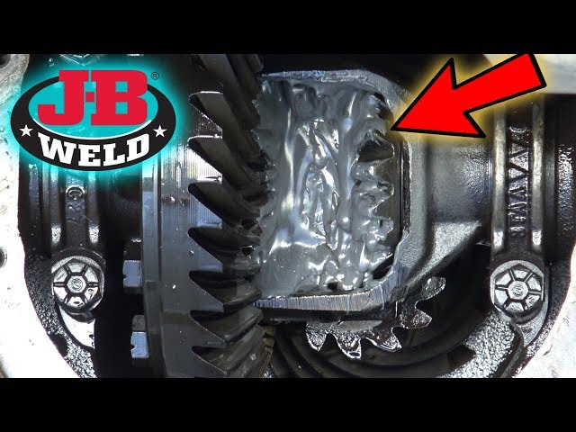 Can You JB WELD your DIFF?